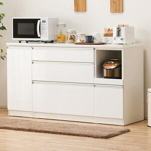 [幅150cm] キッチンカウンター(レジューム 150SL-R WH) ニトリ 【配送員設置】 【5年保証】
