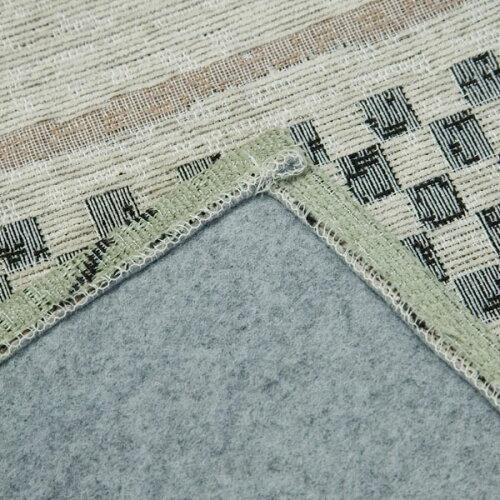 シェニールジャガード織りラグ(ネイチャーH185X185)ニトリ【送料有料・玄関先迄納品】