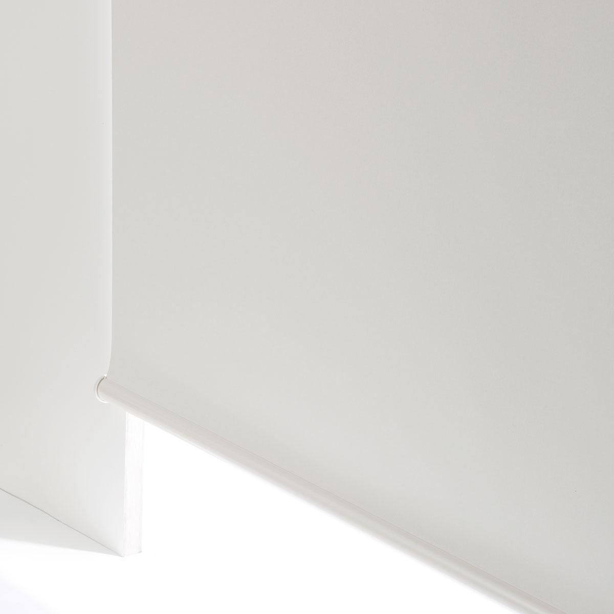 遮光 スリムタイプ ロールスクリーン チェーン式(ドルフィンWH 45X180) ニトリ 【玄関先迄納品】