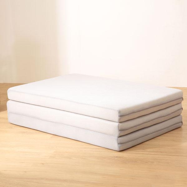 腰をしっかり支える3つ折りマットレス シングル(ボリュームバランス FH01) ニトリ 【玄関先迄納品】