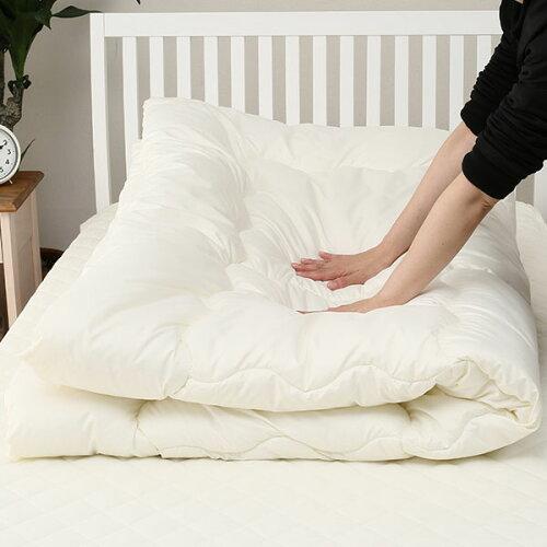 すぐに使える寝具6点セットシングル(ボーダーGR/BDS)ニトリ【玄関先迄納品】【1年保証】