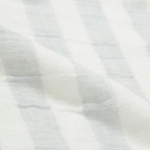 ガーゼバスタオル(ボーダーGY)ニトリ【玄関先迄納品】