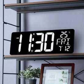 [幅37.5cm] 電波 LED掛け置き兼用時計(ダイオ) ニトリ 【玄関先迄納品】 【1年保証】 〔合計金額11000円以上送料無料対象商品〕