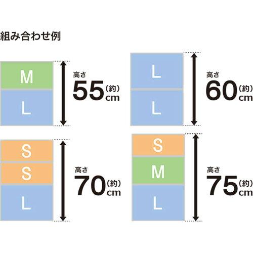 クローゼット衣装ケース4個セット(セレスFDクローゼットMH25)ニトリ【玄関先迄納品】【新生活】