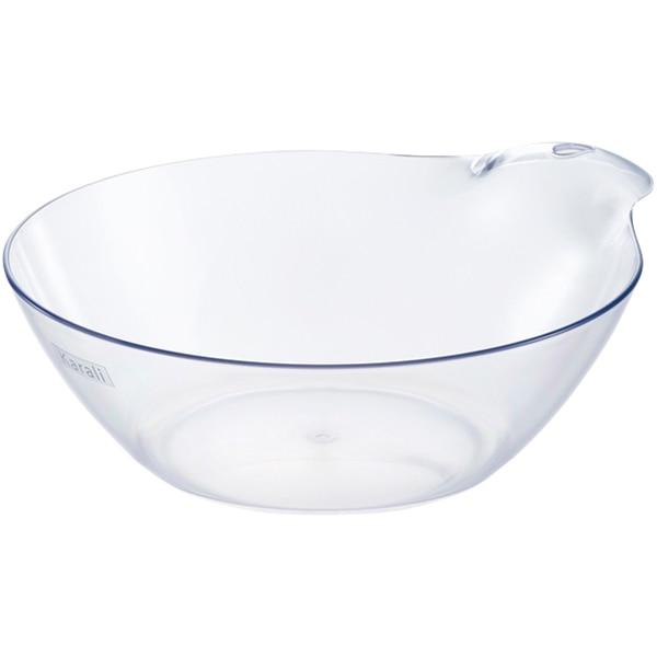 カラリと乾いてお手入れ簡単 湯桶 カラリHG N(クリア) ニトリ 【玄関先迄納品】