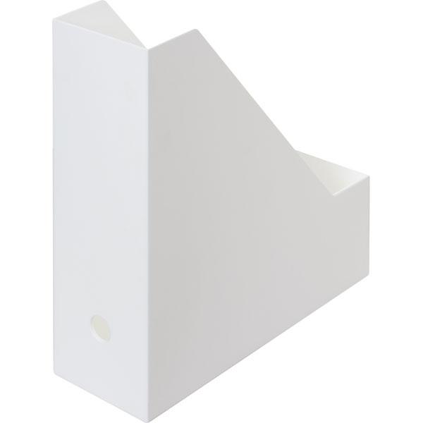 A4ファイルスタンド(オールホワイト)8個セット 【玄関先迄納品】
