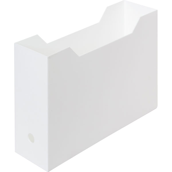 A4ファイルケース(オールホワイト)6個セット 【玄関先迄納品】