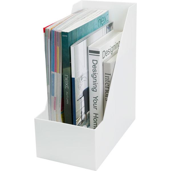 A4ファイルスタンド 6個セット(オールホワイト ワイド) ニトリ 【送料有料・玄関先迄納品】 【新生活】