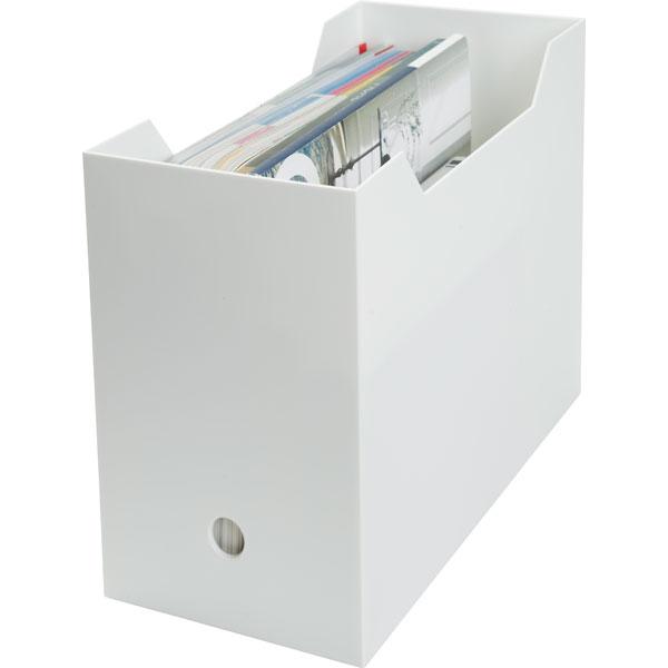 A4ファイルケース オールホワイト(ワイド) 6個セット ニトリ 【玄関先迄納品】