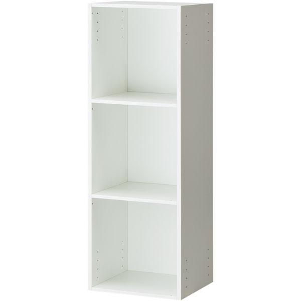 A4キューブカラーボックス キューボSR 3キューブ(ホワイト) ニトリ 【玄関先迄納品】