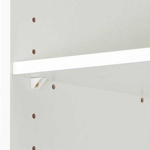 カラーボックスカラボスリム2段(WH)ニトリ【玄関先迄納品】【1年保証】
