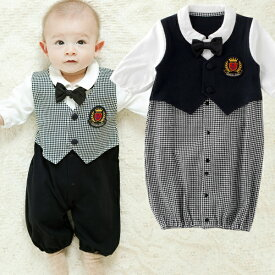 827ceb6597867 ベビー服 新生児 男の子 ツーウェイオール カバーオール フォーマル セレモニー 出産祝い ギフト プレゼント 2WAYオール 兼用ドレス