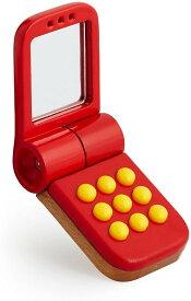 【BRIO・ブリオ】モバイルフリップフォン 30426 携帯電話 スマートフォン スマホ 木製 木のおもちゃ【北海道・沖縄・離島配送不可】