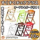 すくすくチェアプラス テーブル&ガード付 yamatoya すくすくプラス ハイチェア すくすくチェアプラス 椅子【300円ク…