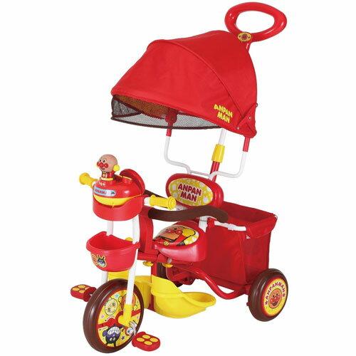 M&M(エムアンドエム) 三輪車 アンパンマン デラックス 北海道(3000円)離島別途送料沖縄不可※この商品の包装は致しかねますのでご了承ください