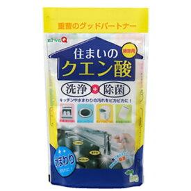 住まいの クエン酸 250g トイレ 除菌 洗浄 掃除 消臭 キッチン 水回り 排水口 水あか まな板 炭酸