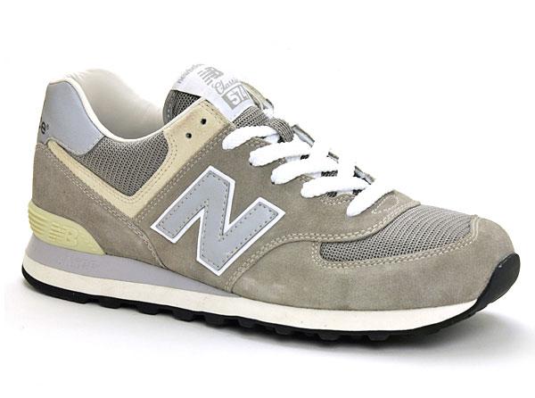 ニューバランス 574 靴 ML574VG グレー 23.0/23.5/24.0/24.5/25.0 メンズ レディース 男性 女性 人気 定番 NEW BALANCE 国内正規品 即納
