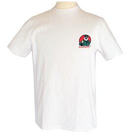 Goodwear グッドウェア OLDER MAN バックロゴTシャツ ホワイト 白T 半袖 2W7-4507 S M L XL Tシャツ バックプリント 肉厚 おしゃれ 返品交換不可 SS
