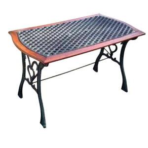 クロステーブル 13015 ジャービス商事[F-627] 【送料無料】 ガーデンテーブル ガーデンチェア ガーデンファニチャー