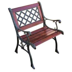 クロスチェア 13017 ジャービス商事[F-629]【送料無料】 ガーデンテーブル ガーデンチェア ガーデンファニチャー