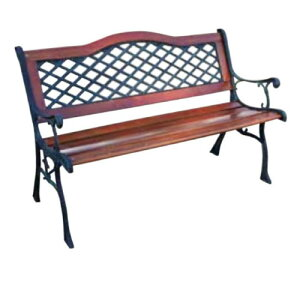 カーブクロスベンチ 13016 ジャービス商事[F-630]【送料無料】 ガーデンテーブル ガーデンチェア ガーデンファニチャー