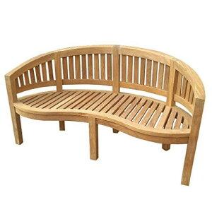 バナナベンチ 36701 ジャービス商事[F-673] 【送料無料】 ガーデンテーブル ガーデンチェア ガーデンファニチャー