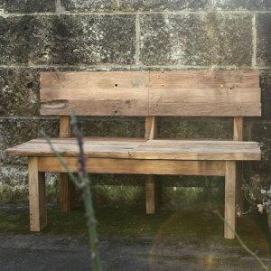 流木ベンチ 35250 ジャービス商事[F-678] 【送料無料】 ガーデンテーブル ガーデンチェア ガーデンファニチャー