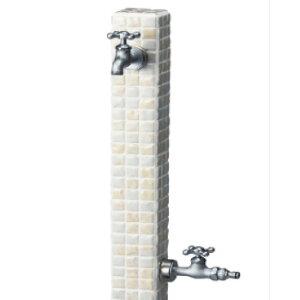 立水栓ユニット-シュペリ(サンド)【蛇口・補助蛇口別売】[W-573]【あす楽対応不可】【全品送料無料】