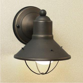 ガーデンライト:アメリカ製ウォールライトK-9021ZLD[LD-044]【あす楽対応不可】【全品送料無料】