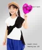 シフォンリボンTシャツ110〜140