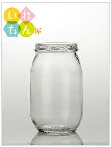 ジャム瓶 ふた付 24本入【ジャム450UL-ST 丸瓶】ガラス瓶 保存瓶 はちみつ容器 果樹酒 果樹漬け かわいい 可愛い おしゃれ オシャレ スタイリッシュ かっこいい 蓋付