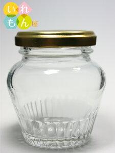 ジャム瓶 ふた付 48本入【WMB-100 丸瓶】ガラス瓶 保存瓶 はちみつ容器 小さい かわいい 可愛い おしゃれ オシャレ スタイリッシュ かっこいい