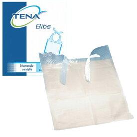 tena TENA ビブ紙エプロン(使い捨てエプロン) 150枚 介護用品 紙エプロン 食事用 水がこぼれても衣服を汚さない ディスポ 感染予防 ビブエプロン