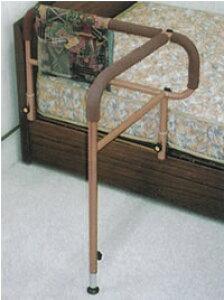 ベット手すり ささえニュータイプ(移動バー付)吉野商会 木製ベット用手すり/起き上がり手すり/立ち上がり手すり/起き上がり補助/立ち上がり補助/介護用品