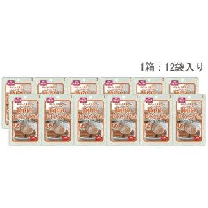 ホリカフーズ おいしくミキサー 豚肉のやわらか煮50g×12袋 介護食 介護用レトルト かまなくてもよい