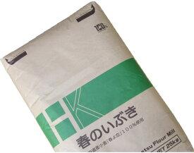 春よ恋100%品(春のいぶき) 業務用 25Kg /パン用小麦粉 【江別製粉 北海道産ハルヨコイ小麦100% 強力粉】