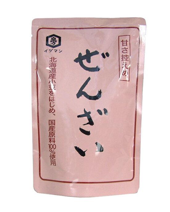 特製ぜんざい 180g 【北海道産小豆使用】【クリームぜんざい・白玉ぜんざい】