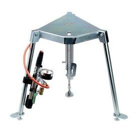 ランデックス工業 簡易支持力試験機 エレフット 本体 (報告書作成ソフト・載荷板セット・拡大レンズ付)