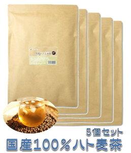 はと麦茶 美味しい お徳用 大容量 国産 100% イボ ティーパック ティーバック【5個セット5%OFF】 【2.5×100包×5袋】 がぶ飲み チロシン バリン
