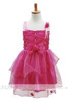 プリンセスぼたんいろ子供ドレス