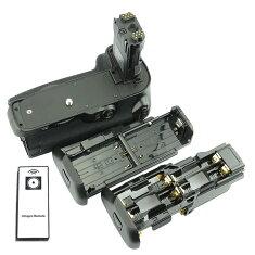 [あす楽対応]リモコン付[CanonキヤノンLP-E6/LP-E6N対応]バッテリーグリップ純正互換品BG-E14[純正互換バッテリーに対応可能]イオスEOS7DMarkII