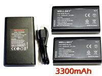 DMW-BLJ31互換バッテリー2個&DMW-BTC14[デュアル]USB急速互換充電器バッテリーチャージャー1個[3点セット][純正品と同じよう使用可能残量表示可能]PanasonicパナソニックLUMIXルミックスDC-S1RDC-S1RMDC-S1DC-S1MDMW-BTC14DMW-BGS1