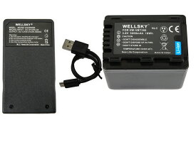 VW-VBT380 VW-VBT380-K 互換バッテリー 5000mAh 1個 & [ 超軽量 ] USB Type-C 急速 互換充電器 バッテリーチャージャー VW-BC10 VW-BC10-K 1個 [ 2点セット ] [ 純正品と同じよう使用可能 残量表示可能 ] Panasonic パナソニック HC-V750M HC-VX980M