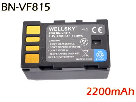 [ あす楽対応 ] [ Jvc Victor ビクター Everio エブリオ ] BN-VF815 / BN-VF808 互換バッテリー [ 純正充電器で充電可能 残量表示可能 純正品と同じよう使用可能 ] GZ-MG360 / GZ-MG330 / GZ-MG575 / GC-VX1 / GC-YJ40
