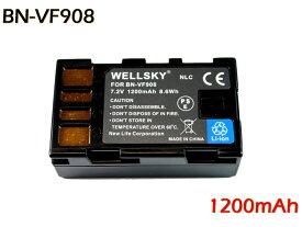 [ あす楽対応 ] [ Jvc Victor ビクター Everio エブリオ ] BN-VF908 / BN-VF808 互換バッテリー [ 純正充電器で充電可能 残量表示可能 純正品と同じよう使用可能 ] GR-DA30 / GZ-X900 / GZ-MG360 / GZ-MG330 / GZ-MG575等