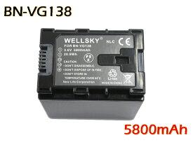 [ あす楽対応 ] [ Jvc Victor ビクター ] BN-VG138 / BN-VG121 / BN-VG119 / BN-VG129 互換バッテリー [ 純正充電器で充電可能 残量表示可能 純正品と同じよう使用可能 ] GZ-E225 / GZ-E220 / GZ-G5 / GZ-EX270 / GZ-EX250 / GZ-E280 / GZ-E320 / GZ-E325 / GZ-E345