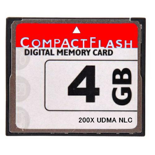 ■送料無料■【東芝製チップ】採用オリジナルブランド■CompactFlash CFカード コンパクトフラッシュ 4GB 200X 200倍速 UDMA対応●LP-E4N/LP-E6/EN-EL4a/EN-EL3e/D-Li90/K-5/K-7/D-Li50/BP-511A/20D/30D/40D/50D●