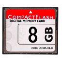 [ 送料無料 ] [ 東芝製チップ ] 採用オリジナルブランド Compact Flash CFカード コンパクトフラッシュ 8GB 200X 200…