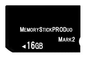 [ 送料無料 ] [ 東芝製チップ ] 採用オリジナルブランド メモリーカード [ メモリースティック ] Pro Duo mark2 16GB [ MemoryStick Pro Duo 16GB フラッシュメモリ ]