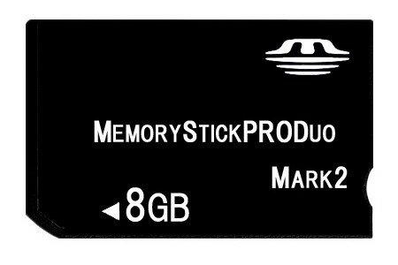 ■送料無料■【東芝製チップ】採用オリジナルブランド■メモリースティックPro Duo mark2 8GB【MemoryStick Pro Duo8 GB・メモリーカード・フラッシュメモリ】PSP-1000/PSP-2000/PSP-3000/NP-FW50/NP-FH50/NP-FG1